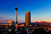 ラスベガスの夕焼け 11069004784| 写真素材・ストックフォト・画像・イラスト素材|アマナイメージズ