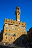 ヴェッキオ宮殿の時計塔 11069008116| 写真素材・ストックフォト・画像・イラスト素材|アマナイメージズ