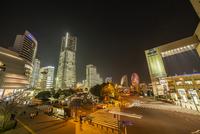 横浜の夜景 11069012557| 写真素材・ストックフォト・画像・イラスト素材|アマナイメージズ