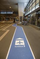 第3ターミナルへのサイン