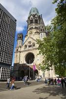カイザー・ヴィルヘルム記念教会、ベルリン、ドイツ
