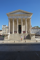 古代の神殿、ニーム、フランス