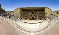 ローマ劇場、オランジュ、フランス