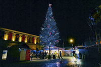 ブザンソンのクリスマスマーケット