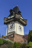 グラーツの時計塔 11069019772| 写真素材・ストックフォト・画像・イラスト素材|アマナイメージズ