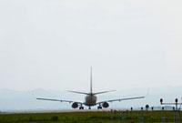 飛行場の飛行機
