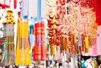 仙台七夕まつり 宮城県 11070004823| 写真素材・ストックフォト・画像・イラスト素材|アマナイメージズ