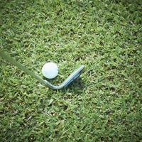 ゴルフボールとゴルフクラブ 11070009750| 写真素材・ストックフォト・画像・イラスト素材|アマナイメージズ