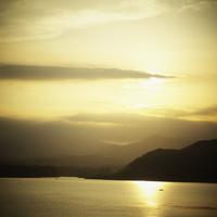 夕焼け空と海 11070010008| 写真素材・ストックフォト・画像・イラスト素材|アマナイメージズ
