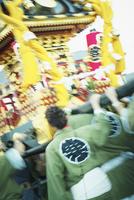 寒河江まつり神輿の祭典 11070010071| 写真素材・ストックフォト・画像・イラスト素材|アマナイメージズ