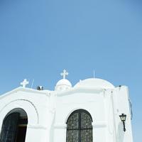 白い教会 11070010870| 写真素材・ストックフォト・画像・イラスト素材|アマナイメージズ