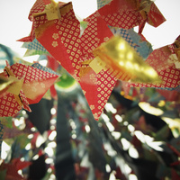 仙台七夕まつりの飾り 11070010988| 写真素材・ストックフォト・画像・イラスト素材|アマナイメージズ