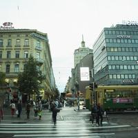 ヘルシンキの街並み フィンランド 11070012717  写真素材・ストックフォト・画像・イラスト素材 アマナイメージズ