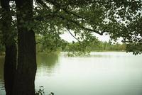 秋の湖 11070012783| 写真素材・ストックフォト・画像・イラスト素材|アマナイメージズ