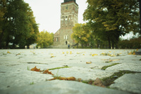 トゥルク大聖堂前の石畳 フィンランド 11070012868| 写真素材・ストックフォト・画像・イラスト素材|アマナイメージズ