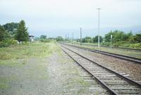 ローカル線の線路