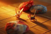 折鶴とお手玉