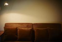 ソファと照明