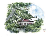仙台城下町百景 三居沢発電所(夏)