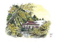 仙台城下町百景 三居沢発電所(秋)