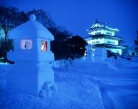 弘前城雪灯籠祭り