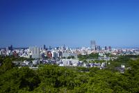 青葉山から見た仙台市全景 宮城県
