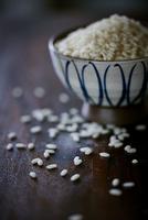外国産の米