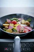 オーガニック野菜のソテー