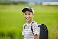 小学生の男の子ポートレート