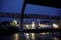 震災後のさんま漁の漁船 宮城県