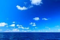 小笠原諸島母島 海と雲