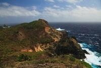 台風接近中の小笠原諸島母島