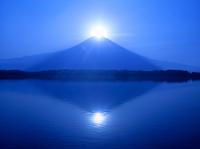 田貫湖からのダイヤモンド富士山