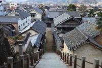 竹原の街並み 11076002587| 写真素材・ストックフォト・画像・イラスト素材|アマナイメージズ