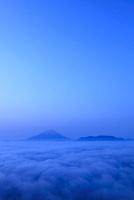 櫛形山林道より富士山と夜明け