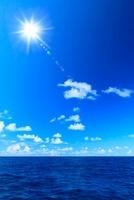 小笠原諸島母島 海と太陽