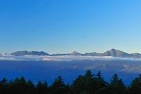 観音平より南アルプス・甲斐駒ケ岳 11076006453| 写真素材・ストックフォト・画像・イラスト素材|アマナイメージズ