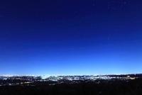 東京方面の夜景遠望