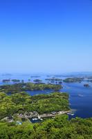 展海峰から望む九十九島 11076007791| 写真素材・ストックフォト・画像・イラスト素材|アマナイメージズ