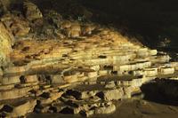 秋芳洞の百枚皿 11076008003| 写真素材・ストックフォト・画像・イラスト素材|アマナイメージズ