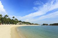 セントーサ島のシロソ・ビーチ