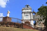 セント・ポール教会跡 フランシスコ・ザビエルの像 11076009079| 写真素材・ストックフォト・画像・イラスト素材|アマナイメージズ