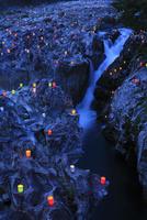 古座川  滝の拝の灯篭祭り