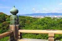 清水寺舞台からの京都市街
