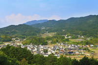 甘樫丘より明日香村を望む