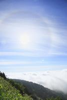 日輪と雲海
