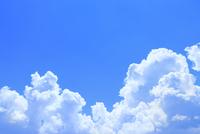 入道雲と青空