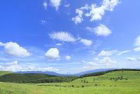 霧ケ峰高原 池のくるみより八ヶ岳と富士山