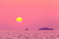 燧灘 瀬戸内海の夕日
