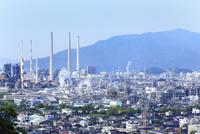 永源山公園から望む工場風景
